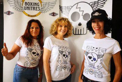 Chicas Boxing Unitres con Boxicalavera